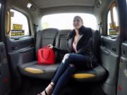 Petite blonde takes fake taxi drivers dick
