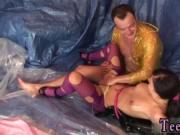 Cum swallow creampie xxx Oiled up for sex