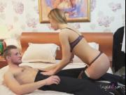 Professional Slut Ksenia Blows Hung Client