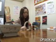 Kinky japanese office sex