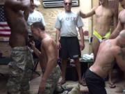 Naked movie of straight army men and military gay fuck