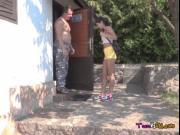 Freaky Teen Lady Dee Lets Old Guy Pleasure Her