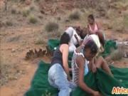 Black girls pounded with fat dick
