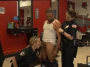 Dominant brunette cop Robbery Suspect Apprehended