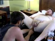 Young gay dp porn Sky Works Brock's Hole with his Fist