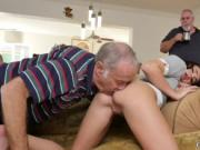 Young and old xxx dirty man babe Riding the Old Wood!
