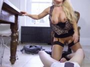 Hot mom cum inside pussy She got ravaged until he bust