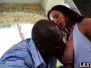Voluptuous MILF woman Kendra Lust poses and gets hammer