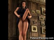 3D Futanari Babes with Monster Dicks!