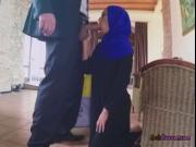 Arab Babe Apolonia Blows Rich Guy For A Job