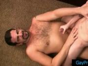 Twink gets rimmed and fucked by bear 4 by GayPrideVault