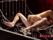Punishes partner and teaching bondage Poor lil' Jade Ja