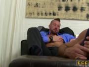Boys sucking toes photos gay first time Hugh Hunter Wor