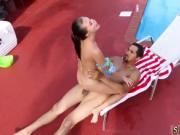 Barely legal teens xxx Swimming In Semen