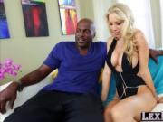 Big tits blondie Katie Morgan gets hammered by Lexingto