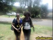 African lesbians licking and fingering pussies