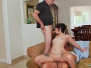 Hot and mean s strap on threesome first time More 200 y