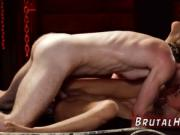 Bondage piss anal and brutal creampie Poor tiny Jade Ja