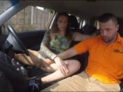 Big tits woman Ava Austen banged by her driving instruc