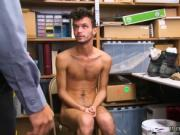 Police guys cock movie gay 18 year old Caucasian male,