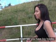 Big tits beauty bangs public agent pov
