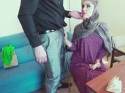 Huge Throbbing Cock In Arab Girlfriend Warm Mouth
