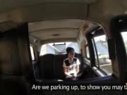 Punk london teen fucks in fake taxi