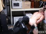 Testicle gay fetish Dungeon sir with a gimp