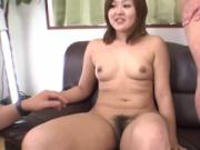 Finger and dildo barrage on Asian
