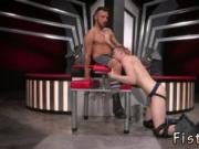 Naked boy gets fisted gay Sub romp pig, Axel Abysse cra