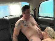 Horny milf taxi driver fucked hard