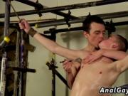 Weak male bondage and gay rubber video The Boy Is Just