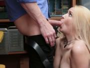 LP Officer romps Carmen Callaways pussy on top
