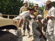 Naked guys masturbate in the military gay Explosions, f