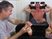 Young gay foot fisting Connor Maguire Tickled Naked