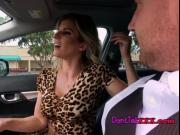Sexy MILF Cory Chase Enjoys Her Drivers Big Cock