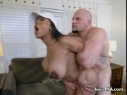 Hot Ebony Minx Moriah Mills Gets Fucked And Creamed