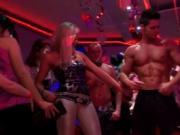 Uncensored orgy delight