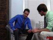 Gay guys legs movie first time Hunter Page & Cameron Wo
