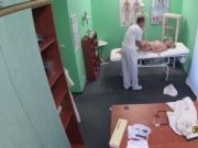 Doctor fucks virgin patient