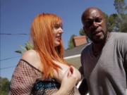 Busty Lauren Phillips gets a hardcore interracial