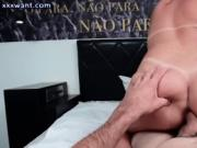 Naughty shemale giving blowjob
