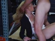 Hairy pussy blowjob Hot Milf Banged At The PawnSHop