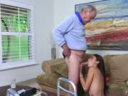 Step mother gives blowjob Poping Pils!