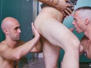 Horny military men in boxer shorts and amateur gay blow