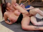 Smoking fetish mom Big Tit Step-Mom Gets a Massage