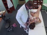 Doctor deep creampied his patient