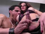 TS Beauty pounded hard by huge cock