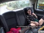 Scandalous Myla gets ass rammed by John in the backseat