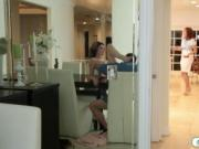 Naughty teen babe pounded by her stepdad